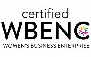 Certified WBENC (Women's Business Enterprise) logo