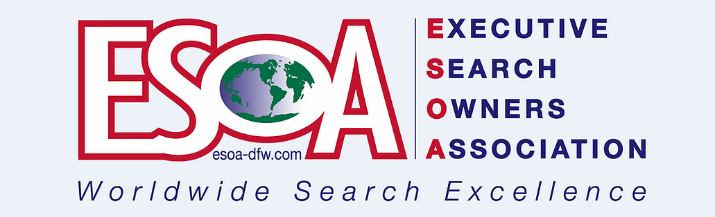 ESOA logo: Executive Search Owners Association - Worldwide Search Excellence