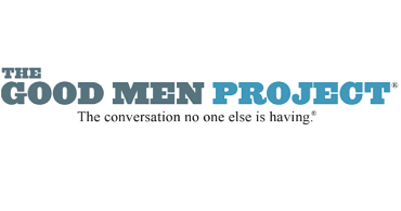 """The Good Men Project logo - """"The conversation no one else is having."""""""