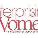 "Enterprising Women Magazine logo - ""The magazine for women business owners"""