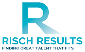 """Risch Results logo - """"Finding great talent that fits."""""""